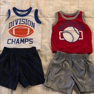 Baby boys 9-12 month outfits